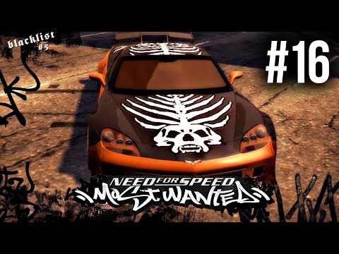 Need for Speed Most Wanted 2005 Gameplay Walkthrough Part 16 - BLACKLIST #5 WEBSTER