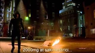The Flash vs Arrow [Full Fight ] TR Altyazılı
