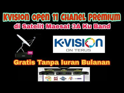 K Vision Open Banyak Chanel Premium Di Satelit Measat 3a Ku Band Sejak 1 Oktober 2018 Youtube