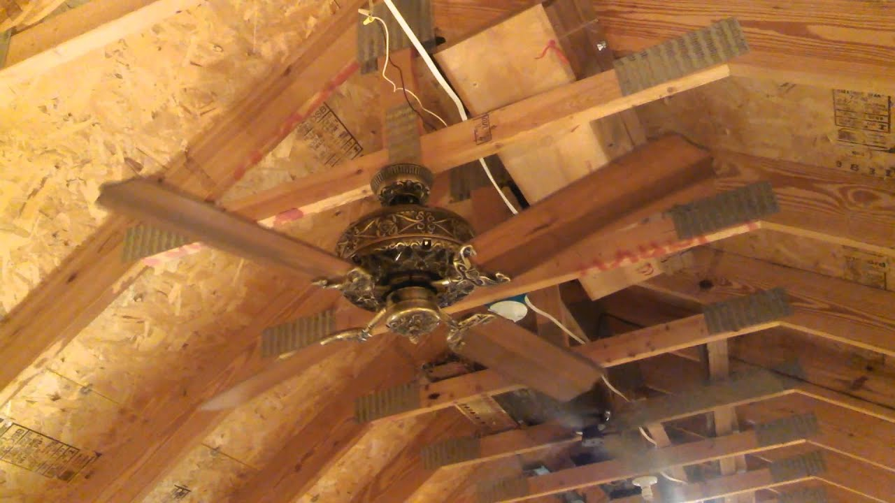 Old Jacksonville Ceiling Fan Ornate Version Nichols Kusan
