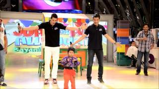 Cha-Cha Dabarkads: James Yap, Marc Pingris & Ryzza (Eat Bulaga 02/25/2013)