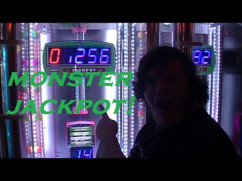 MASSIVE PAYOUTS on Monster Drop Jackpot!!! ~ SO MANY TICKETS!