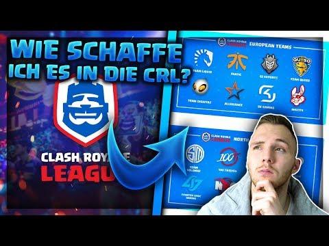 WIE KOMME ICH IN DIE CRL?! | Einem eSport Team beitreten! | Clash Royale