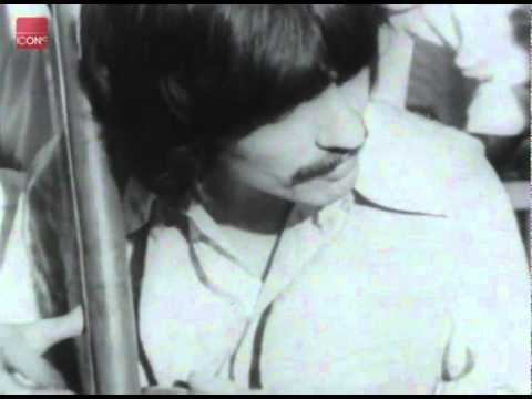 The Beatles in Bombay with Indian musicians