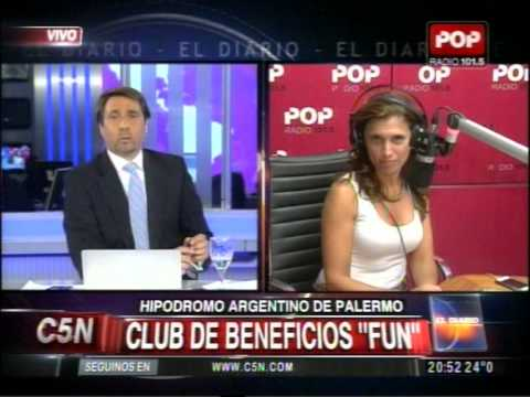 C5N - HIPODROMO DE PALERMO: CLUB DE BENEFICIOS FUN