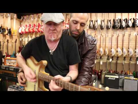 Nuts to Butt with Mark Agnesi & Nick Dias with a Danelectro Double Neck Guitar & Bass