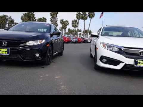 2017 Honda Civic Hatchback Vs Ex T Sedan What Should I