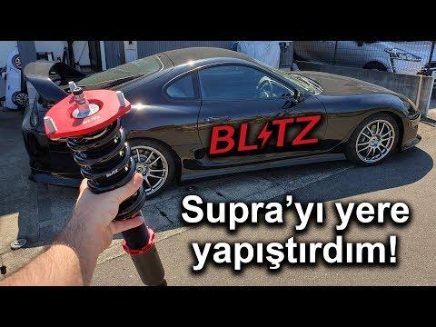 Supra'ya Blitz Coilover Takıyorum   Supra 5. Bölüm   Japonic
