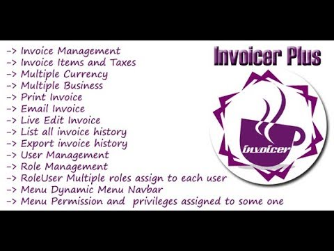 Invoicer Plus Invoice Generator Open Source Aspnet Mvc Print - Open source invoice management