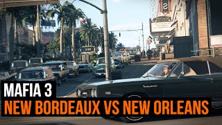 Mafia 3 - New Bordeaux VS New Orleans - The city that inspired the game
