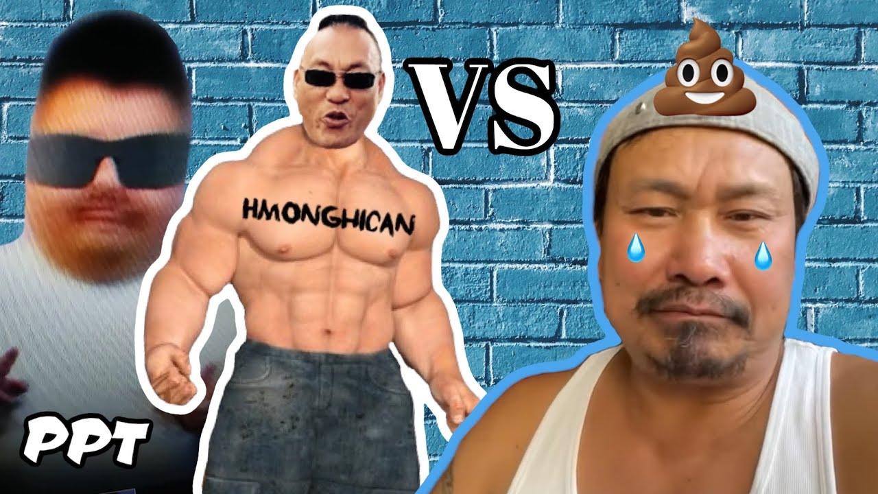 PPT Hmonghican noj tsis taus Ray Racoon txoj kev phem.