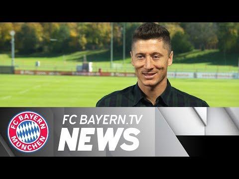 Lewandowski przed meczem Bayern - Celtic w LM
