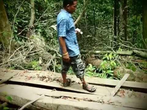 ตะลึงเอียด เส้งเอียดและทีมงานเดินสำรวจป่าต้นน้ำห่วยน้ำใสและป่าสวนเจ้าเย็น
