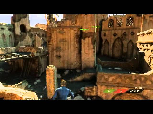 Uncharted 3:  Shottie Kickback