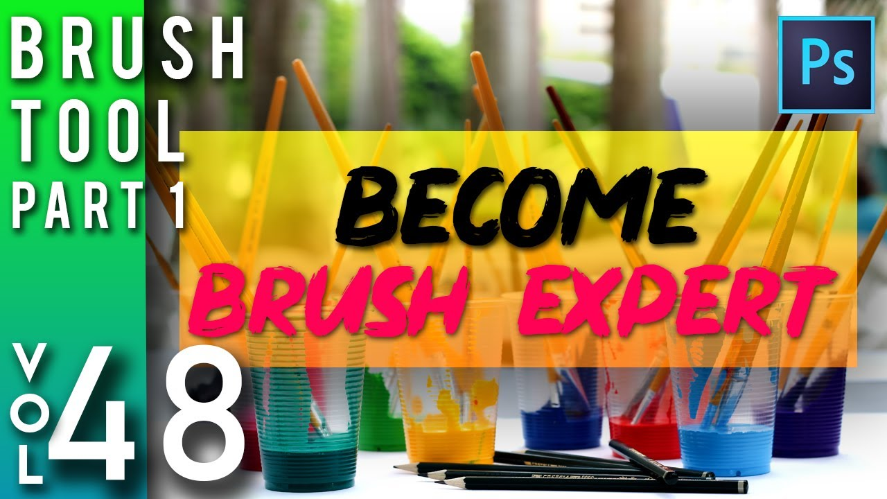 Photoshop Class [Hindi / Urdu] – Brush Tool in photoshop part 1 | Adobe Photoshop for Beginners