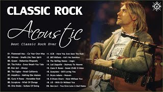 Acoustic Classic Rock Covers | Classic Rock Greatest Hits 70s 80s 90s | Best Classic Rock Ever