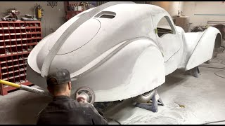 FASTEST WAY TO APPLY AUTO BODY FILLER FOR SHOW CAR FINISH
