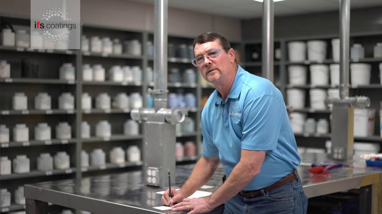 Powder coating pencil hardness test - esy QC tests for powder coatings