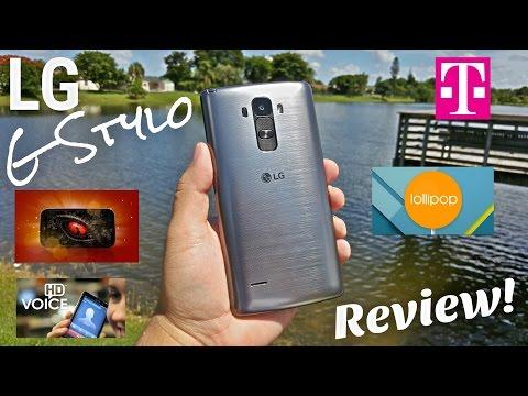 LG G Stylo T-Mobile [Full Review] 4G LTE - NFC - 2GB/16GB - 5.5