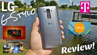 "LG G Stylo T-Mobile [Full Review] 4G LTE - NFC - 2GB/16GB - 5.5"" HD - 2900mAh - 5MP/13MP"