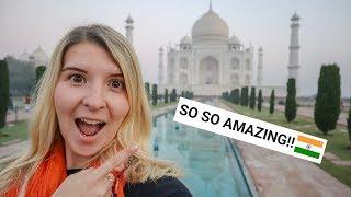 I MADE IT! THE TAJ MAHAL IS SO AMAZING!   Taj Mahal Vlog!