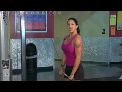 How to Do Triceps Push Downs