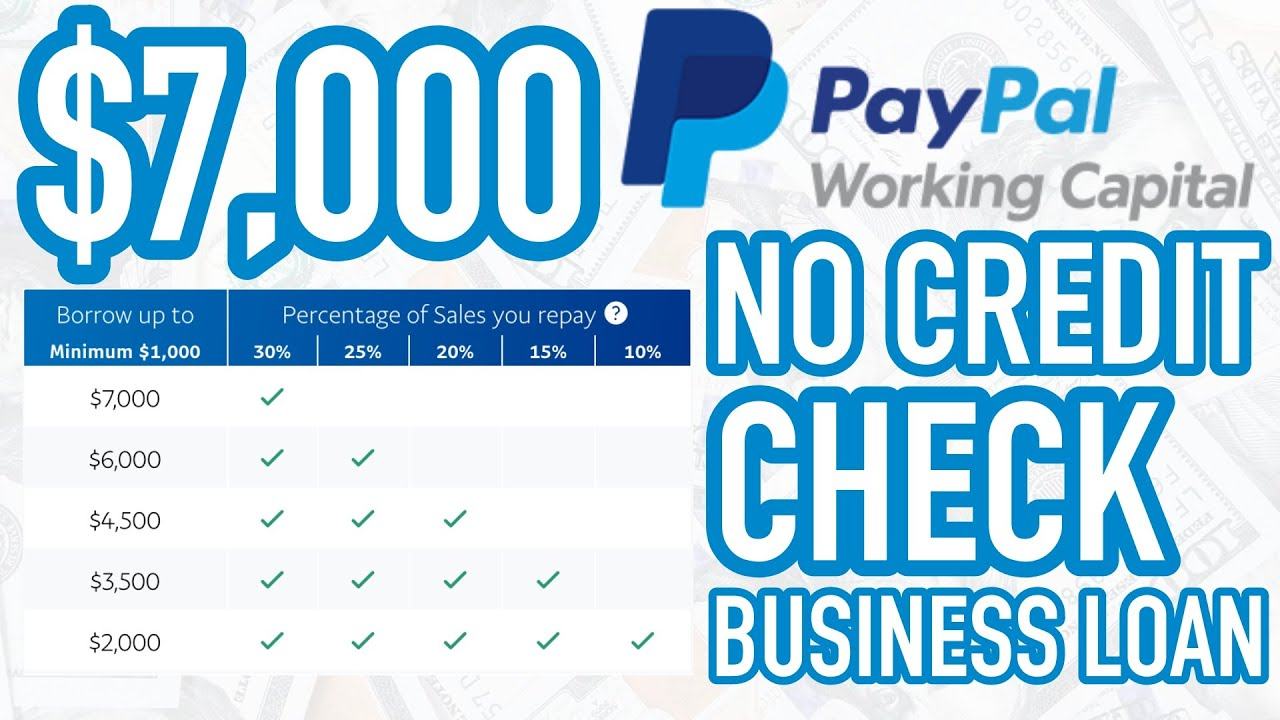 How to get $1K to $500K in PayPal Working Captial • PayPal Business Loan (2021)