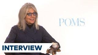 Diane Keaton On Doing Her Own Stunts In Poms