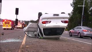 Solo-Vehicle Roll Over SR-54 7/16/2018