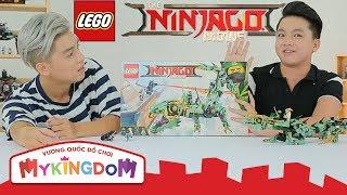 Mở hộp và Lắp Ráp Rồng Xanh Huyền Thoại 70612 | REVIEW THE LEGO NINJAGO MOVIE