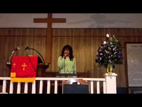 """Angelia Moore Singing """"One Touch"""""""