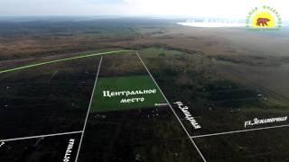 Квадрокоптер DJI Phantom 3 pro снимает панораму Большой Медведицы.