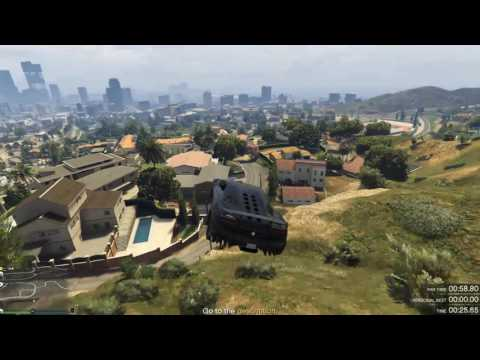 GTA V | Tongva Valley, Time Trial