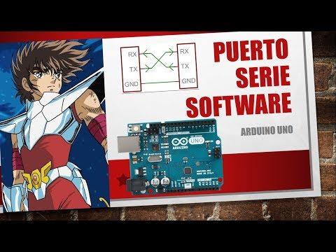 Arduino SoftwareSerial Comunicación Serie Virtual Entre 2 Arduinos Sección 14