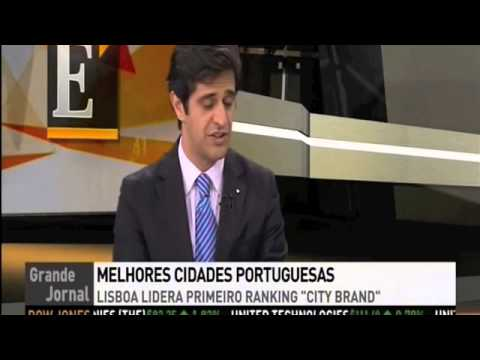 Filipe Roquette interviewed -- Portugal City Brand Ranking © (ENG subtitles)