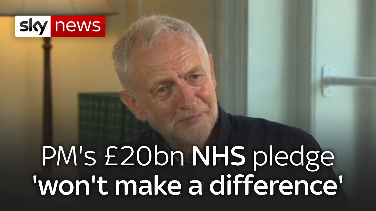 Jeremy Corbyn on Brexit, the NHS and football