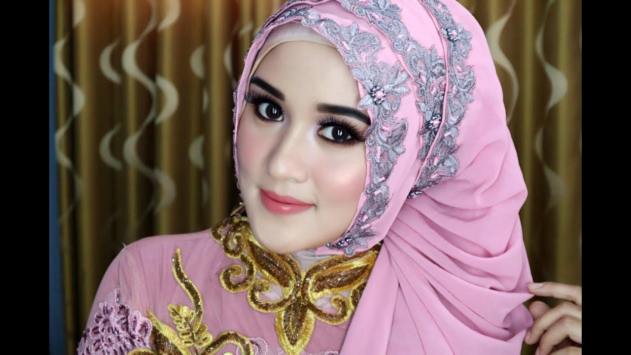 01 Tutorial Hijab Pasmina Wisuda Simple Elegan Dan Mewah Mp4n Youtube