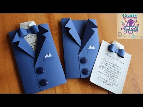 DIY: How to make Invitation card for wedding graduation or different occasion TUTORIAL YouTube