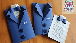 DIY: How to make Invitation card for wedding , graduation or different occasion TUTORIAL