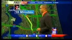 Foggy conditions..traffic report FOX30 jacksonville
