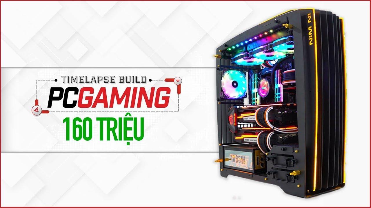 Lắp đặt PC Gaming 160 triệu đồng cho một học sinh cấp 3 | Timelapse ...