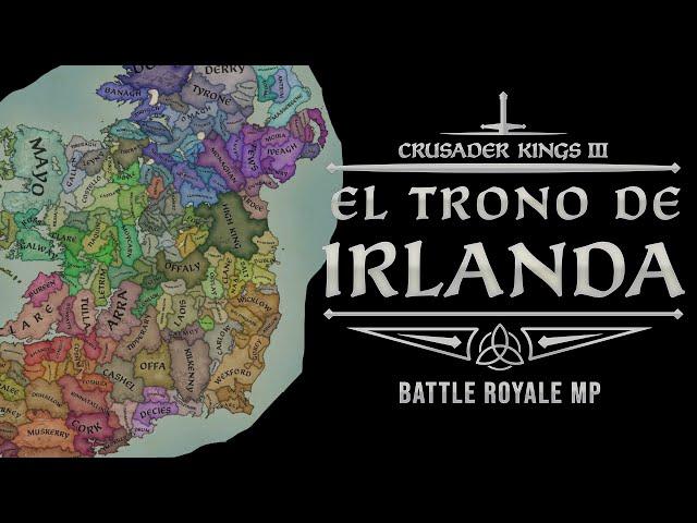 ANUNCIANDO EL IRLANDA BATTLE ROYALE - 24 Y 25 DE ABRIL