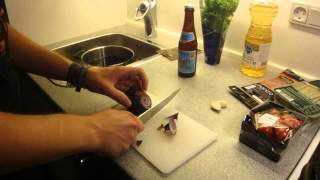 TMOH - Cooking With Beer 1#: Witbier Steamed Mussels