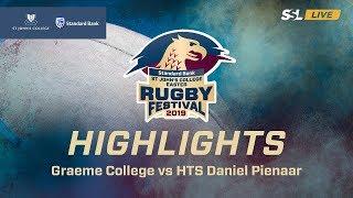 Highlights: Graeme College vs HTS Daniel Pienaar, St John's College Easter Rugby Festival 2019