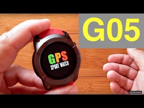 Makibes G05 Smart Sport Watch: Unboxing and Review