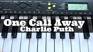 One Call Away - Charlie Puth | Easy Keyboard Tutorial With Notes (Right Hand)