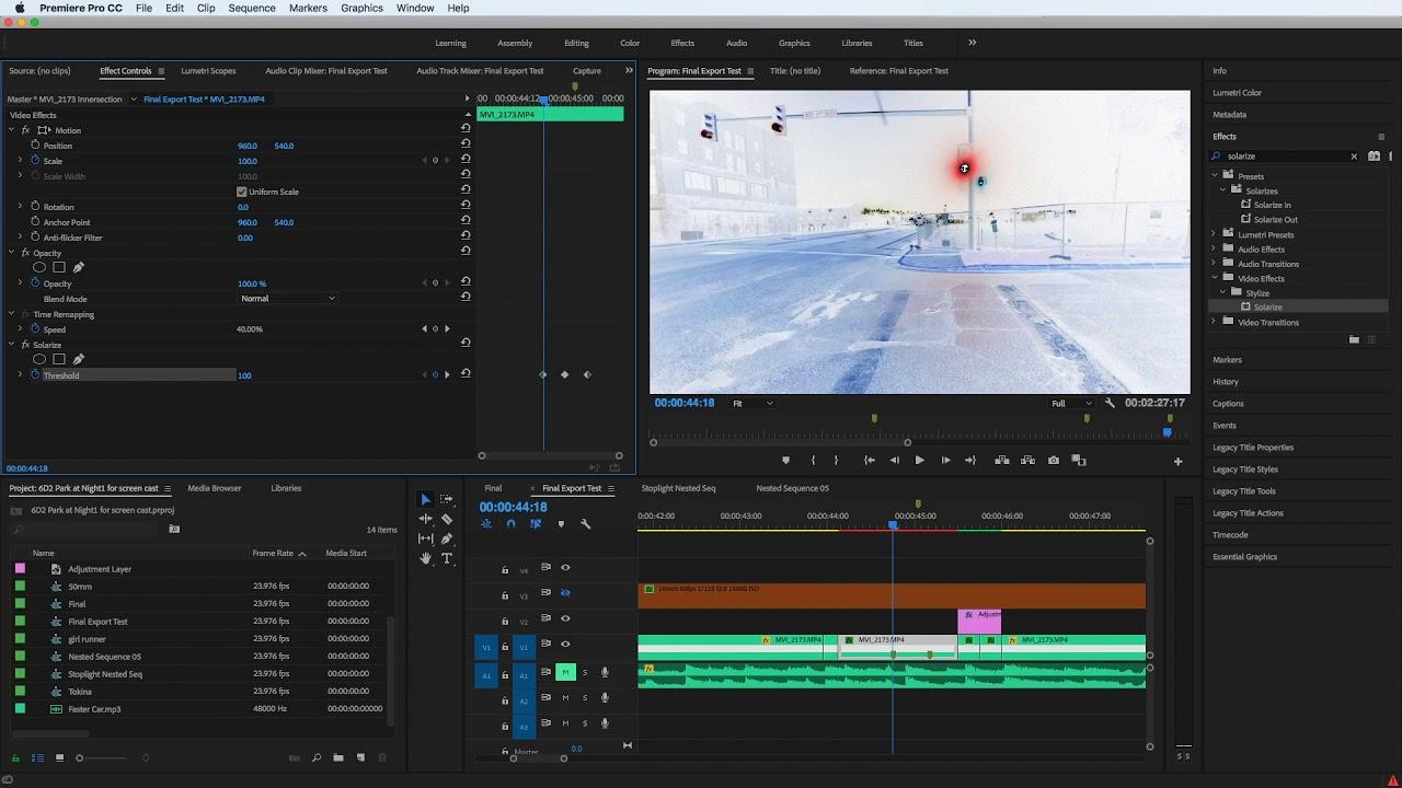 keyframes not working in premiere pro fix nest clip youtube