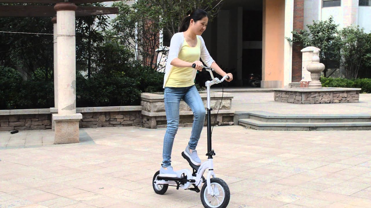 Zzmerck Pedal Scooter Stepper Bike Doovi