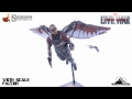 Optibotimus Review:  Hot Toys Captain America Civil War FALCON