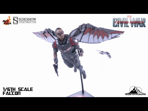 Optibotimus Review:  Hot Toys Captain America Civil War FALCON